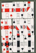 Collectible playing cards, cards game Lincard.